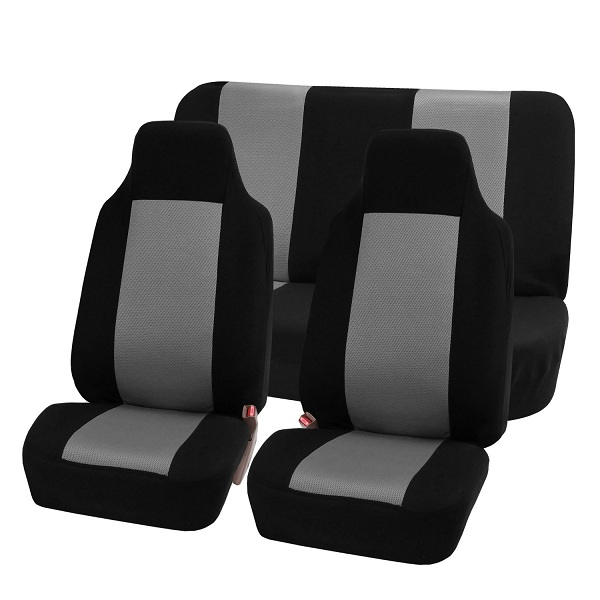 1. FH-FB102112 Classic Cloth Car Seat Covers