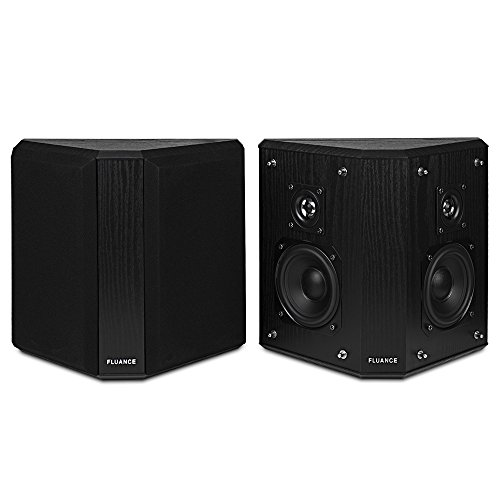 1. Fluance AVBP2 Home Theater Bipolar Surround Sound Satellite Speakers