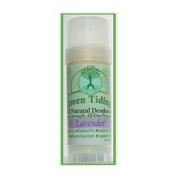 1. Green Tidings All Natural Deodorant
