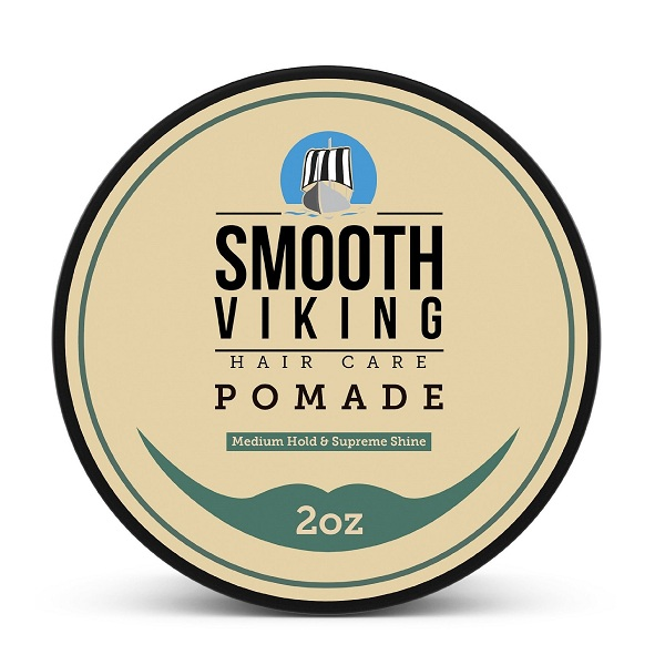 1. Smooth Viking Hair Care Pomade