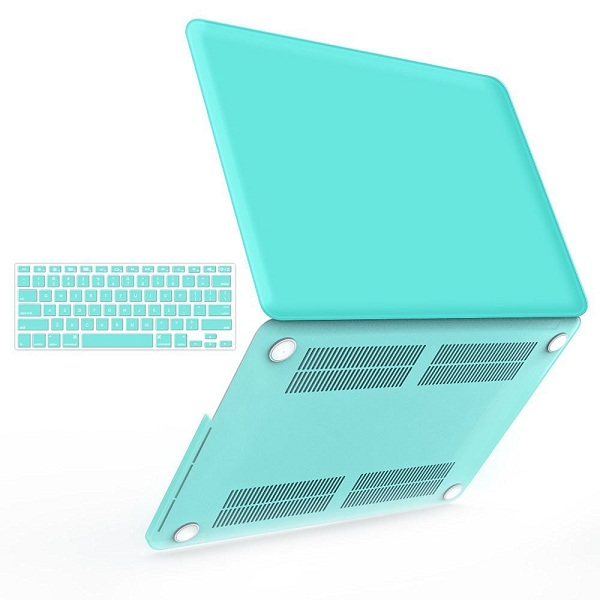 1. iBenzer 2-in-1 Plastic Hard Case Cover & Keyboard Cover