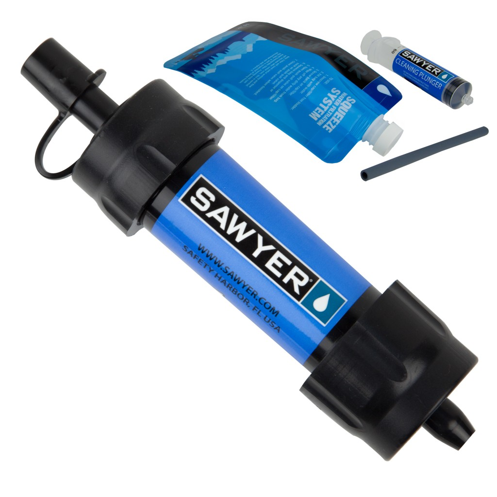 1.Sawyer Products Mini Water Filtration System