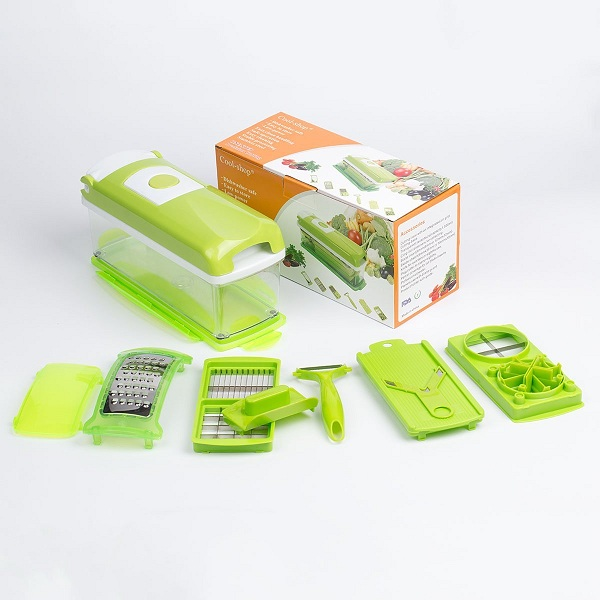 10. Cool-Shop® Nicer Dicer Multipurpose Chopper