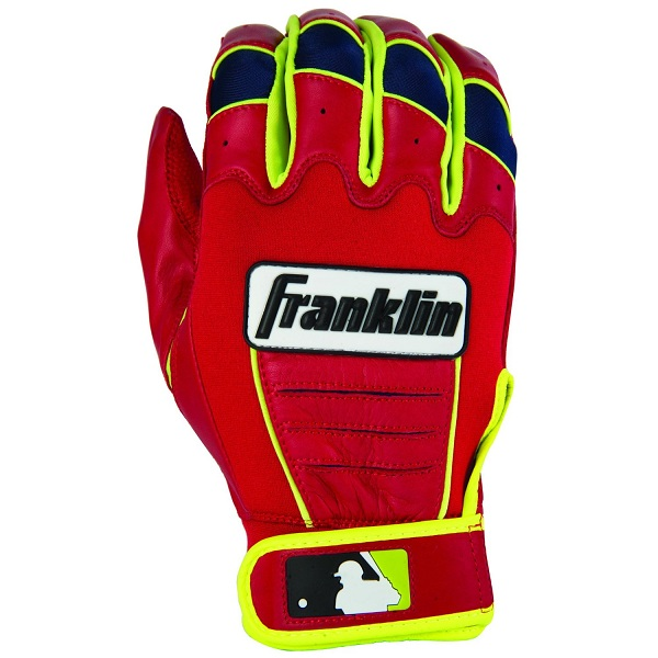 10. Franklin Sports MLB CFX Pro Signature Series Batting Gloves