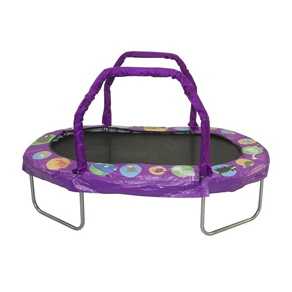 10. JumpKing Mini Oval Trampoline