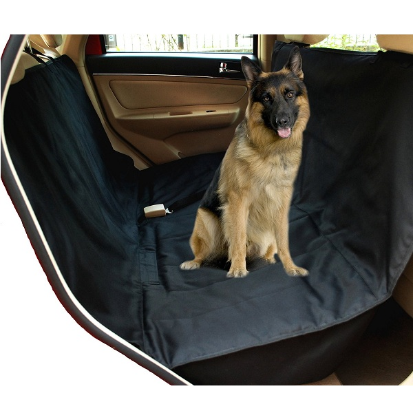 10. NAC&ZAC Deluxe Waterproof Pet Seat Cover