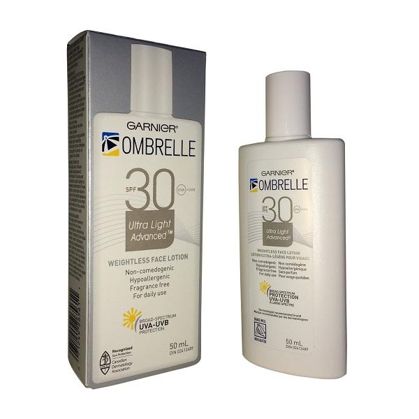 10. Ombrelle Ultra-Fluid Sunscreen Lotion
