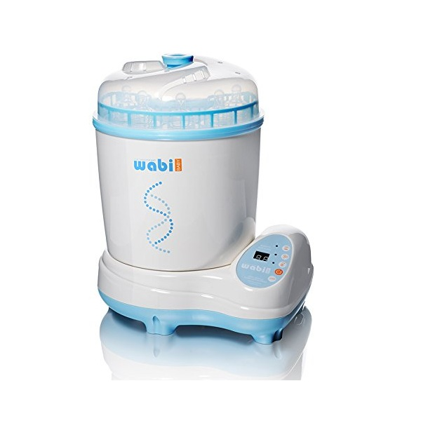 10. Wabi Baby Electric Steam Sterilizer and Dryer