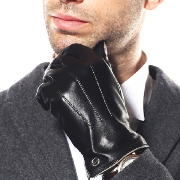 2. ELMA Luxury Men's Italian Nappa Leather Dress Driving Gloves