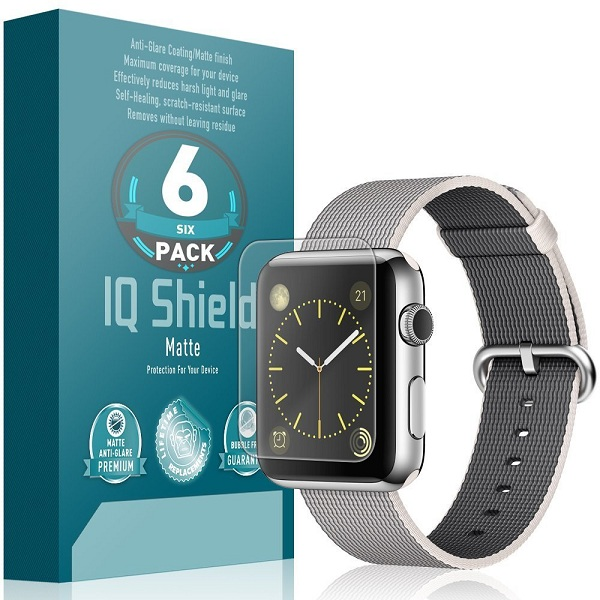 2. IQ Shield Matte Finish Screen Protector