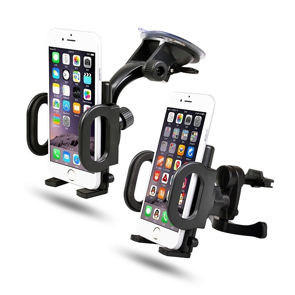3. 2-in-1 Mobile Phone Car Mount