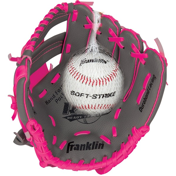 3. Franklin Sports RTP Teeball Performance Gloves & Ball Combo