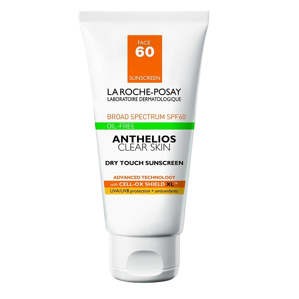3. La Roche-Posay Anthelios Clear Skin Dry Touch Sunscreen