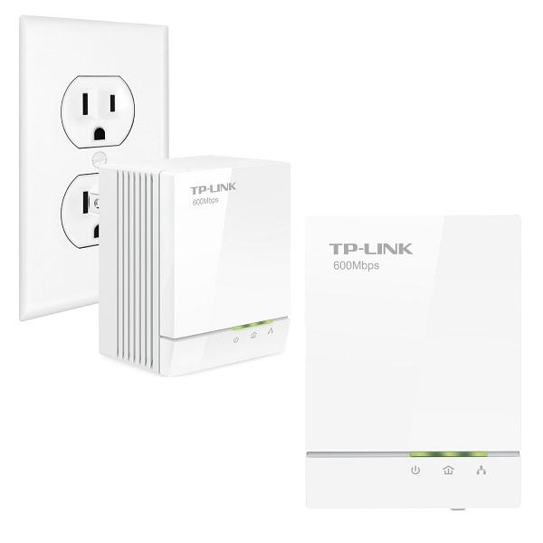 3. TP-LINK AV600 Powerline Adapter Starter Kit