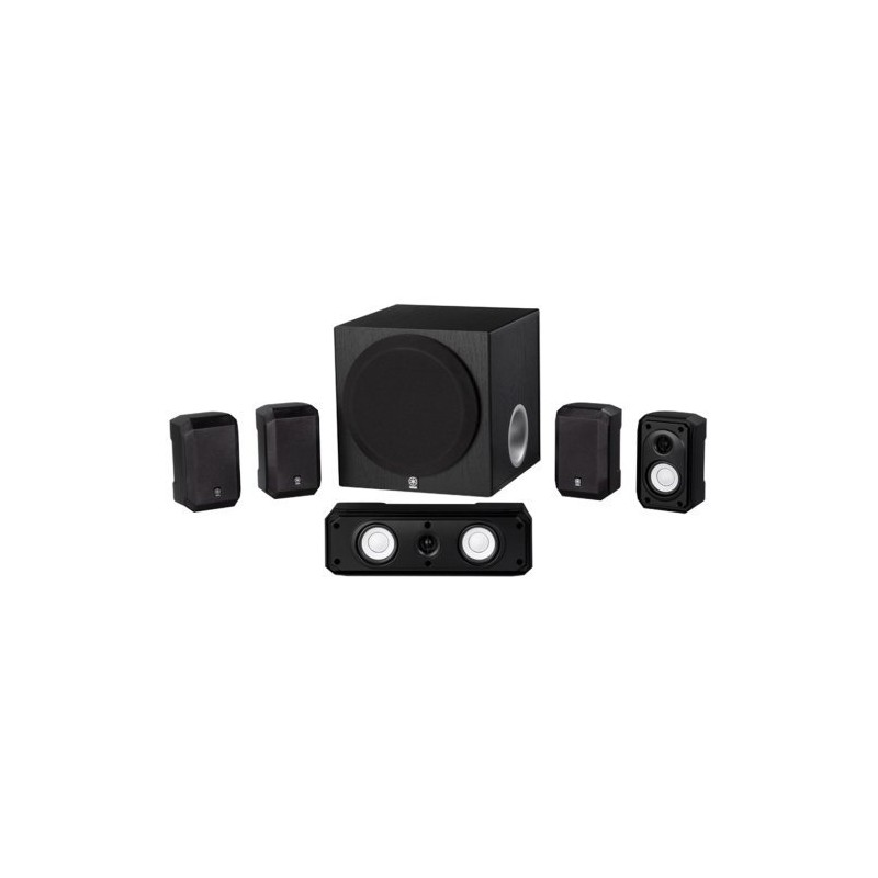 3. Yamaha NS-SP1800BL 5.1-Channel Home Theater Speaker System