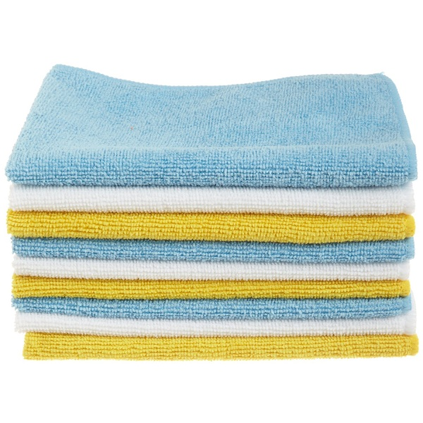 4. AmazonBasics Microfiber Cleaning Cloth