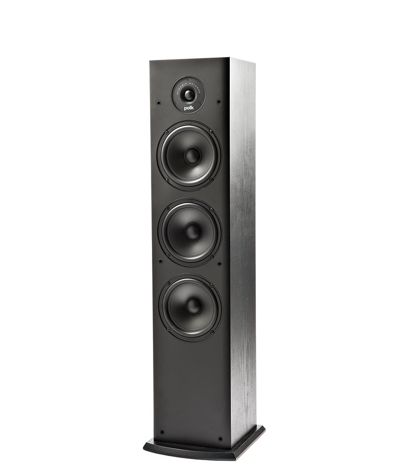 4. Polk Audio T50 Home Theater and Music Floor Standing Tower Speaker (Single, Black)