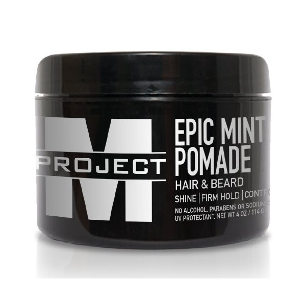 4. Project M Epic Mint Pomade