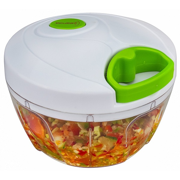 5. Brieftons Manual Food Chopper