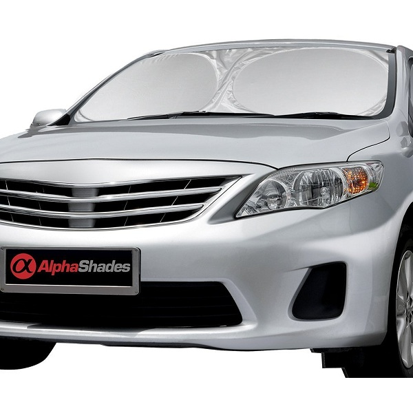 6. AlphaShades Car Windshield Sunshade