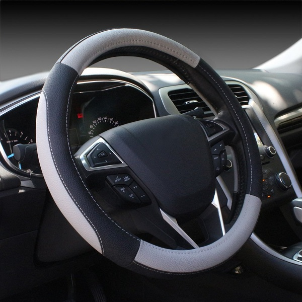 6. SEG Auto Car Steering Wheel Cover