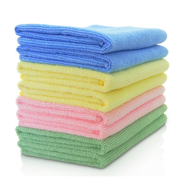 6. VibraWipe VWM-08 Microfiber Cleaning Cloths