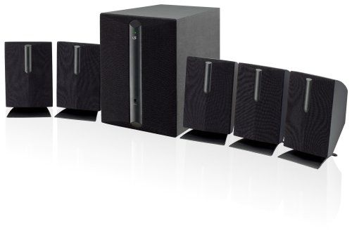 6. iLive HT050B 5.1 Channel Home Theater Speaker System (Black)