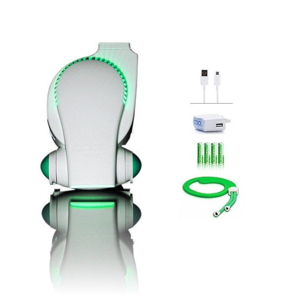 7. Cool On The Go Rechargeable Fan