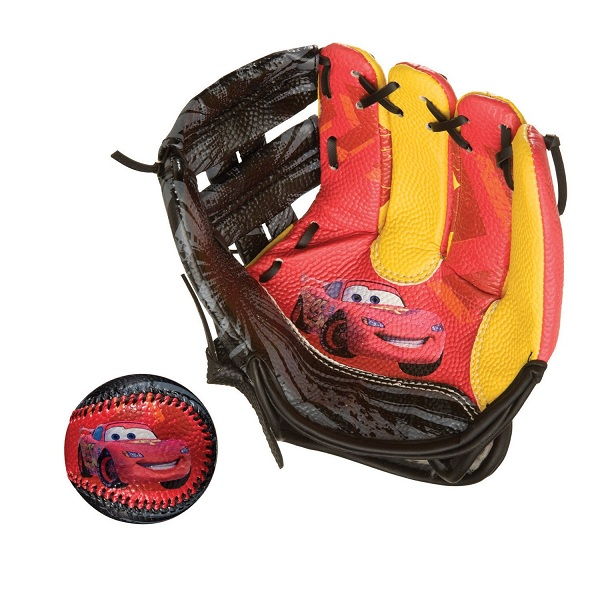 7. Franklin Sports Disney Pixar Cars Air Tech Glove and Ball