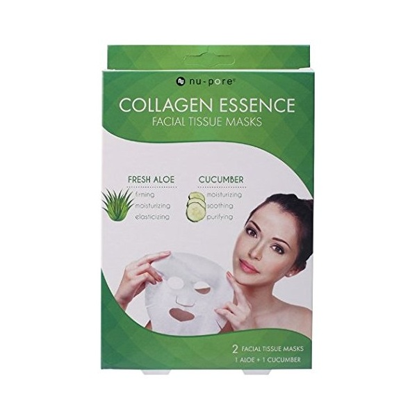7. Nu-Pore Collagen Essence Masks
