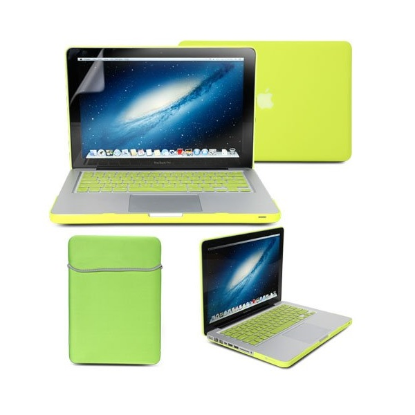 8. GMYLE 4-in-1 Hard Case Cover, Soft Sleeve Bag, Silicon Keyboard Protector, and Screen Protector