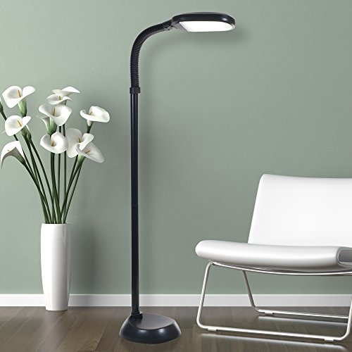 9 Lavish Home 72-1515 LED Sunlight Floor Lamp with Dimmer Switch, 5-Feet