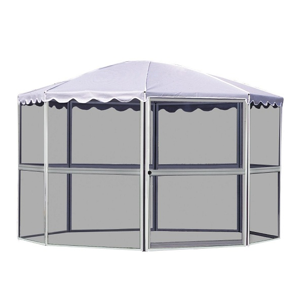 9. Casita 8-Panel Round Screenhouse