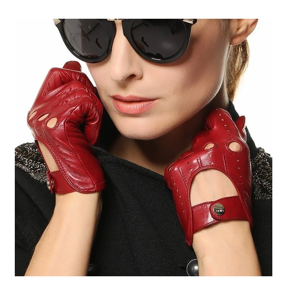 9. Elma Traditional Women's Italian Nappa Leather Gloves