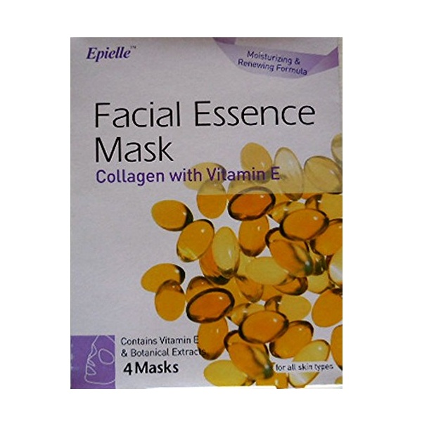 9. Epielle Facial Essence Mask Collagen with Vitamin E