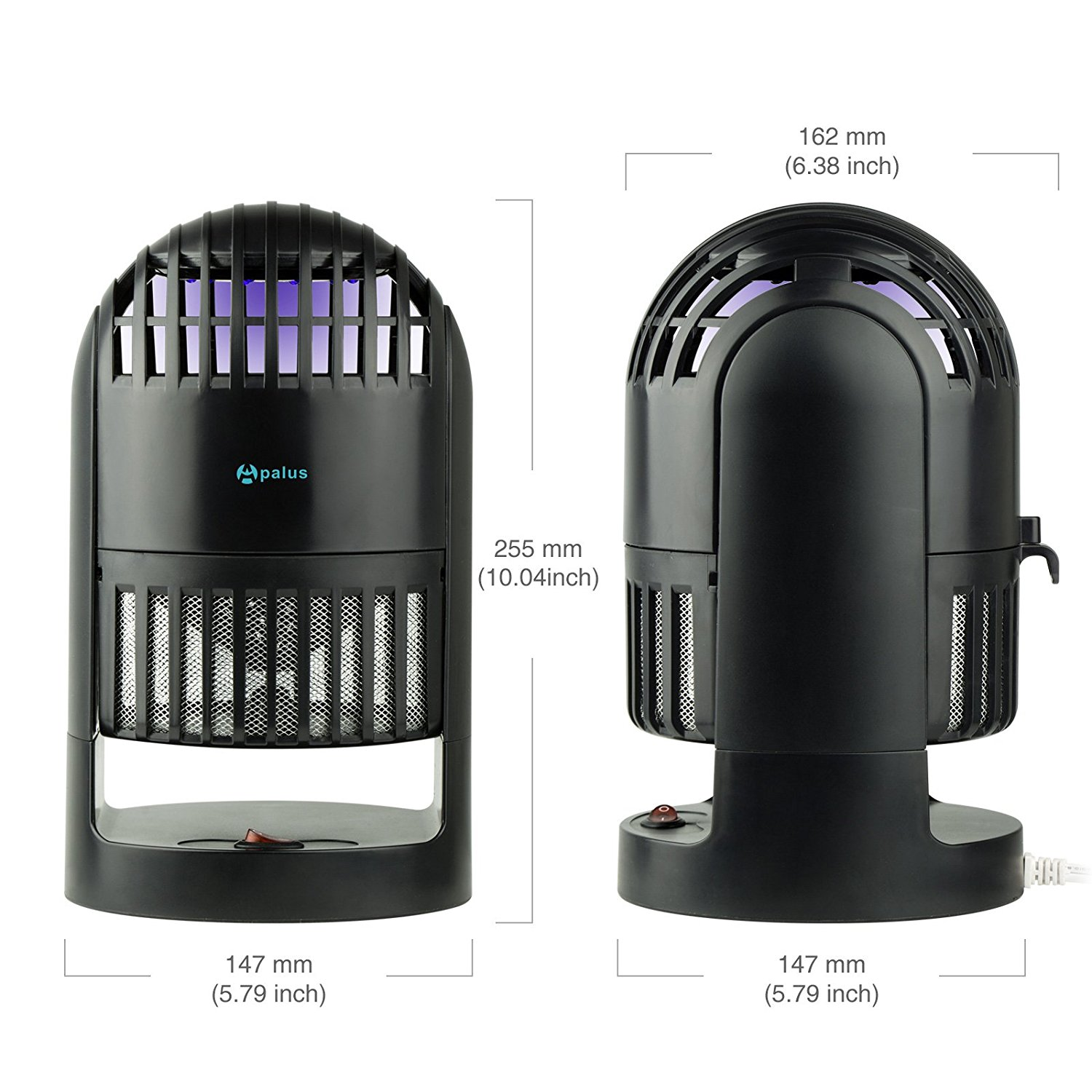 1. Apalus LED Insect Trap, Smart Indoor Mosquito Traps, Mosquito Killer