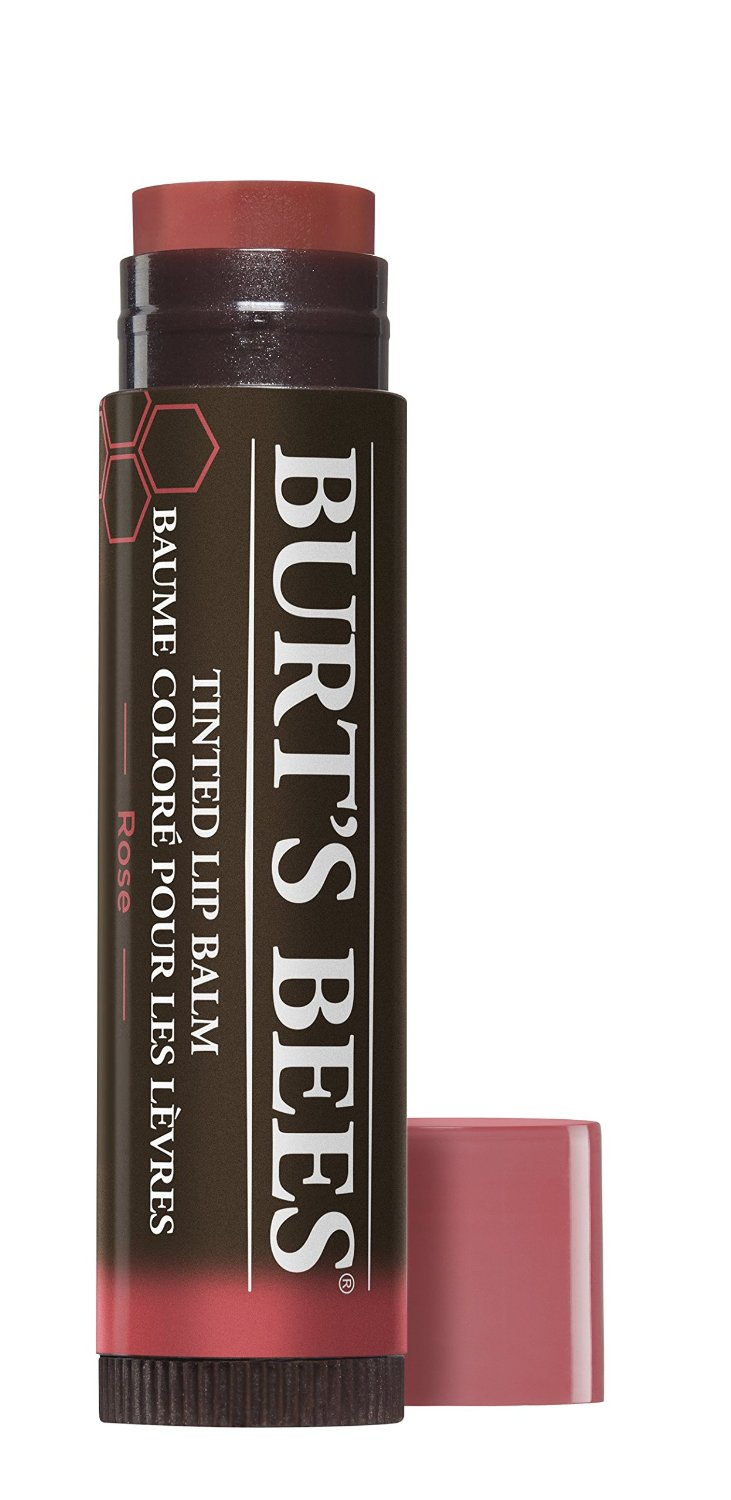 1 Burt's Bees Tinted Lip Balm Rose