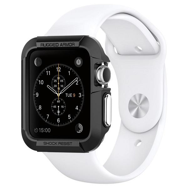1. Spigen Rugged Armor Apple Watch Case
