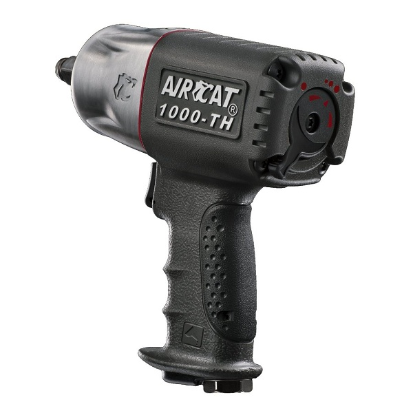 2. AIRCAT 1000-TH ½-inch Composite Air Impact Wrench with Twin Hammer Mechanism
