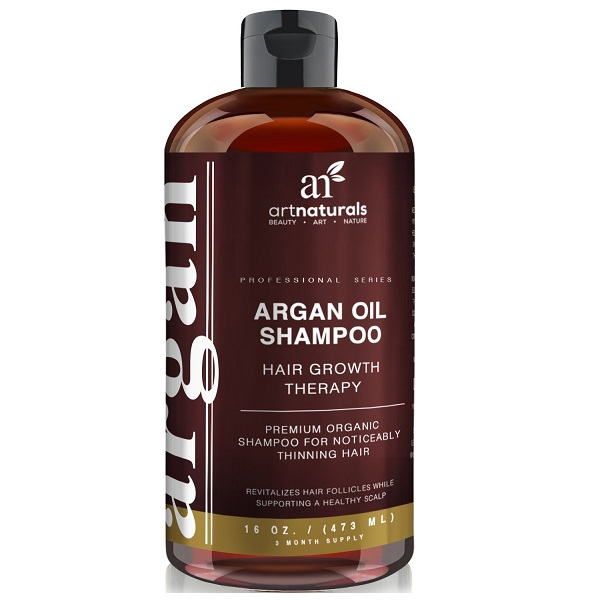 2. Art Naturals Argan Oil Shampoo Hair Growth Therapy
