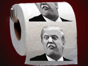 3 Donald Trump Toilet Paper