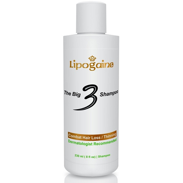 4. Lipogaine Big 3 Premium Hair Loss Prevention Shampoo