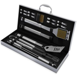 5 BBQ Grill Tools Set with 16 Barbecue Accessories