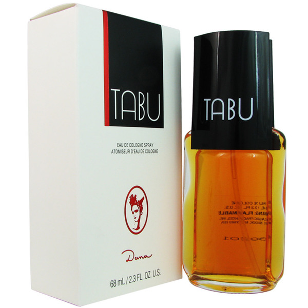 7 Dana Tabu Eau de Cologne Spray for Women, 2.3 Ounce