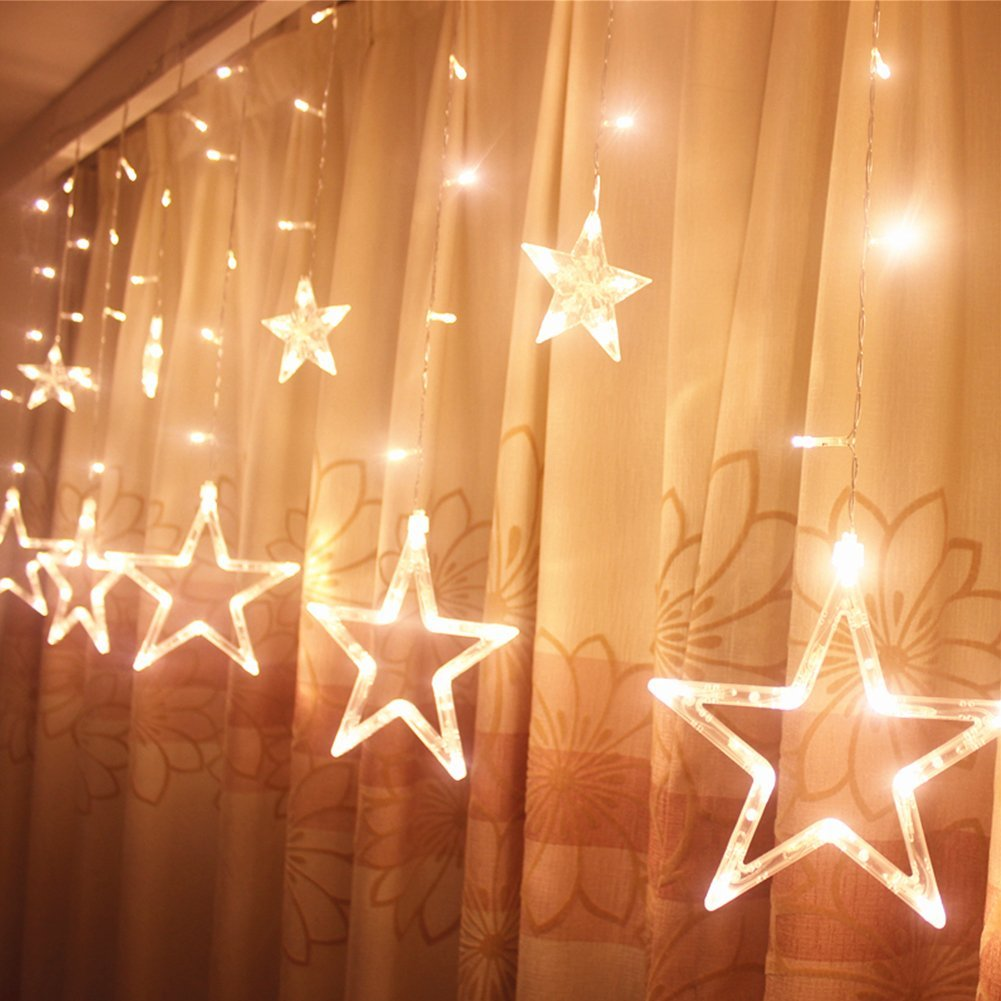 9 Ucharge Star Curtain Lights