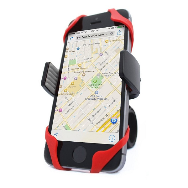 1. Vibrelli Universal Bike Phone Mount Holder