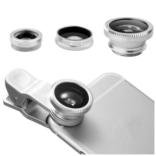 10. AMBESTEE Universal 3-in-1 Camera Lens Kit