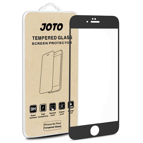 2. JOTO Full Screen Tempered Glass Screen Protector Film