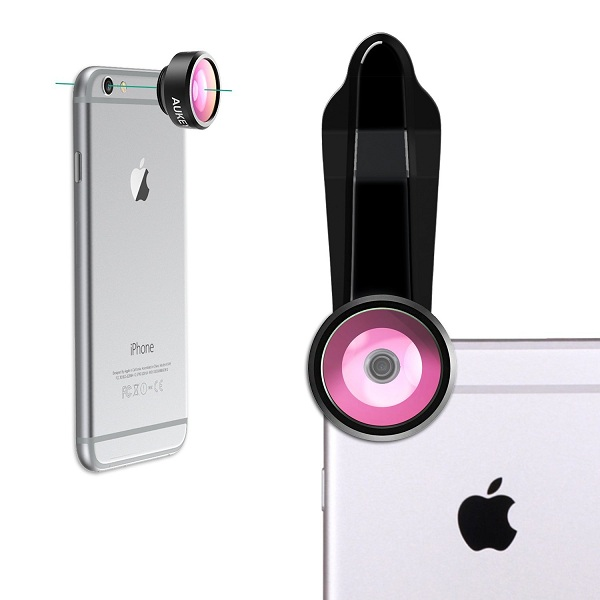4. AUKEY Optic iPhone Lens