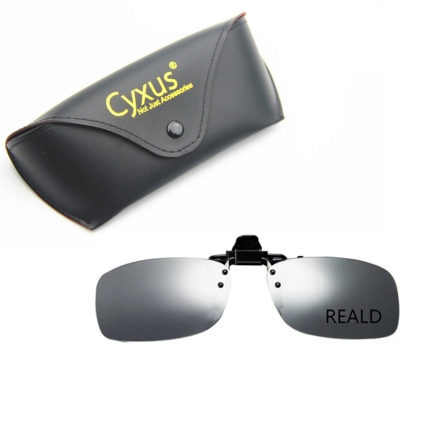 5. Cyxus 3D Clip-On Eyewear